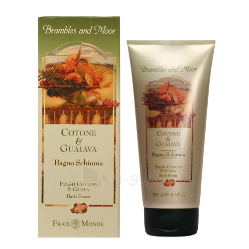 Vonios putos Frais Monde Fresh Cotton And Guava Bath Foam Cosmetic 200ml Paveikslėlis 1 iš 1 310820011371