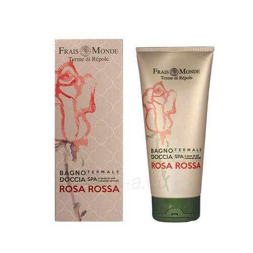 Vonios putos Frais Monde Red Rose Bath Foam Cosmetic 200ml Paveikslėlis 1 iš 1 310820011451