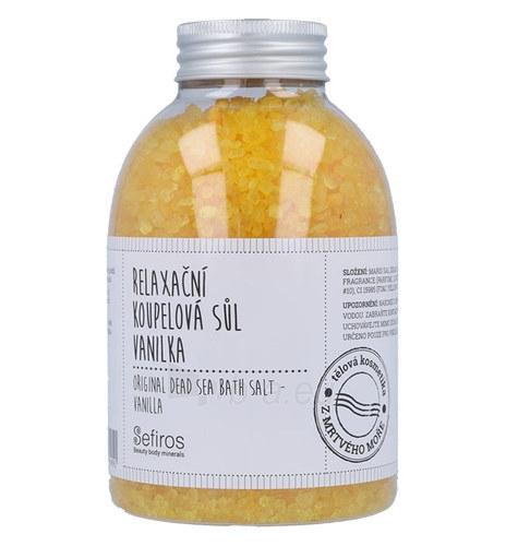 Vonios putos Sefiros Original Dead Sea Bath Salt Vanilla Cosmetic 500g Paveikslėlis 1 iš 1 310820042969