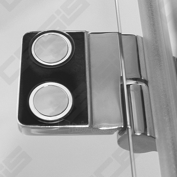 Vonios sienelė ROLTECHNIK TZVL2/1200 su specialia lankstų sistema, brillant profiliu ir skaidriu stiklu Paveikslėlis 5 iš 7 270717001183
