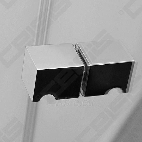 Vonios sienelė ROLTECHNIK TZVL2/1200 su specialia lankstų sistema, brillant profiliu ir skaidriu stiklu Paveikslėlis 6 iš 7 270717001183