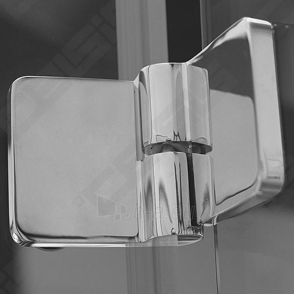 Vonios sienelė ROLTECHNIK TZVL2/1200 su specialia lankstų sistema, brillant profiliu ir skaidriu stiklu Paveikslėlis 7 iš 7 270717001183