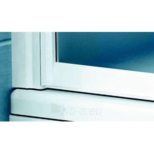 Vonios sienelė VSK2 Rosa 150 balta - stiklas Transparent Paveikslėlis 2 iš 3 270717000521