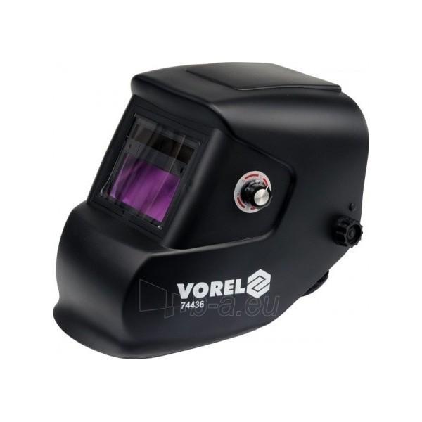 Automatiškai tamsėjantis suvirinimo skydelis Vorel 74436 Paveikslėlis 1 iš 1 225277000137