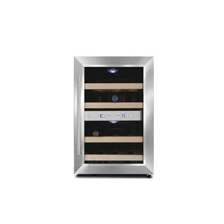 Wine refrigerator Caso Wine Duett 12, For 12 bottles, Manual control, Black case colour Paveikslėlis 1 iš 1 250116002628