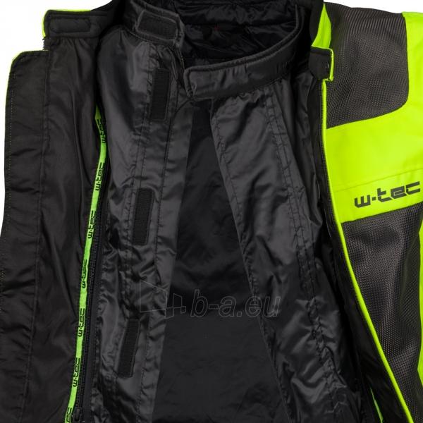 Vyriška moto striukė su apsaugomis Jacket W-TEC Fonteller Paveikslėlis 6 iš 11 310820218037