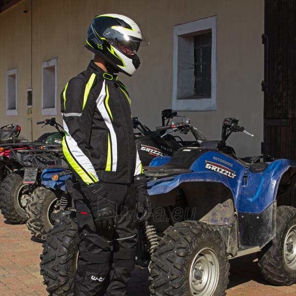 Vyriška moto striukė su apsaugomis W-TEC Chagalero Paveikslėlis 2 iš 11 310820218036