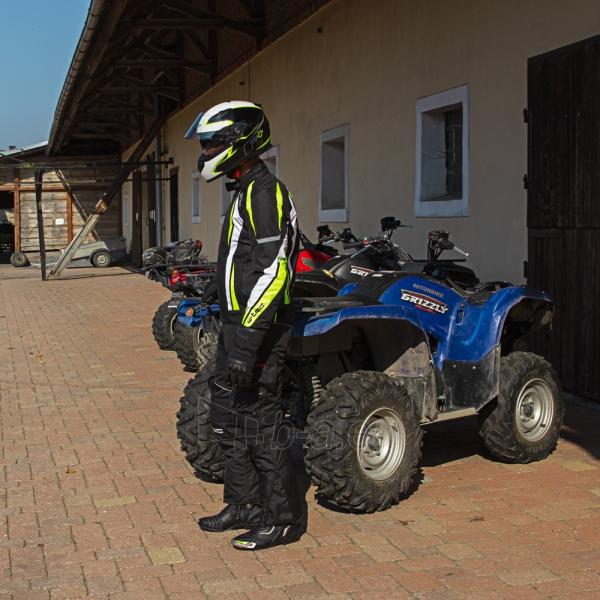 Vyriška moto striukė su apsaugomis W-TEC Chagalero Paveikslėlis 11 iš 11 310820218036