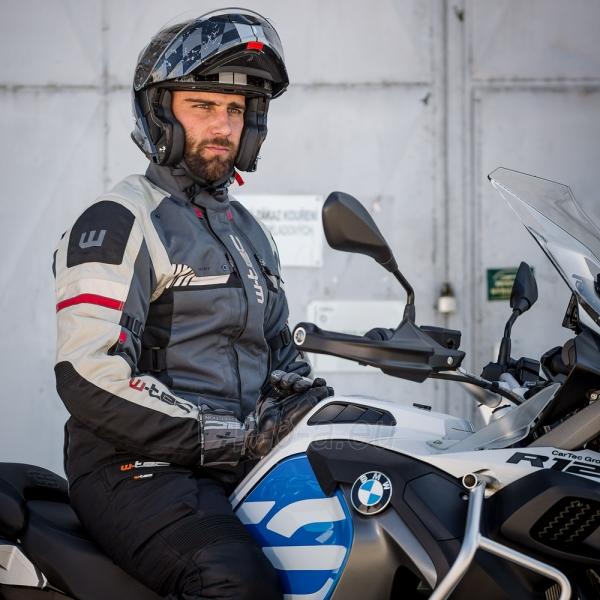 Vyriška moto striukė su apsaugomis W-TEC Excellenta Paveikslėlis 4 iš 18 310820218029