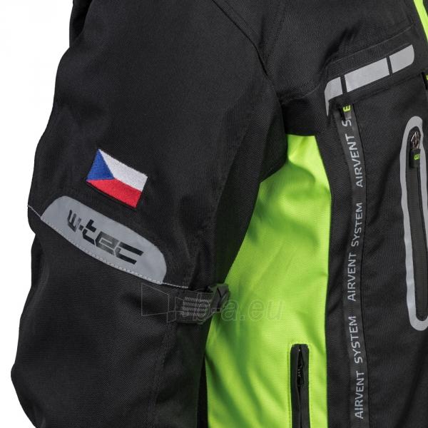 Vyriška moto striukė su apsaugomis W-TEC Gelnair Paveikslėlis 15 iš 21 310820218039