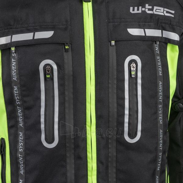 Vyriška moto striukė su apsaugomis W-TEC Gelnair Paveikslėlis 12 iš 21 310820218039