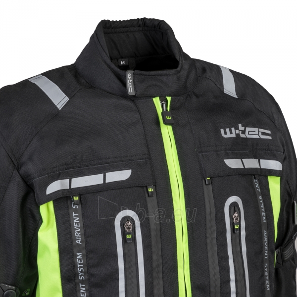 Vyriška moto striukė su apsaugomis W-TEC Gelnair Paveikslėlis 10 iš 21 310820218039