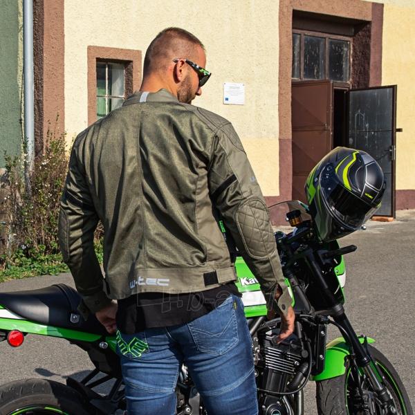 Vyriška moto striukė su apsaugomis W-TEC Rotenhan Paveikslėlis 7 iš 14 310820218035