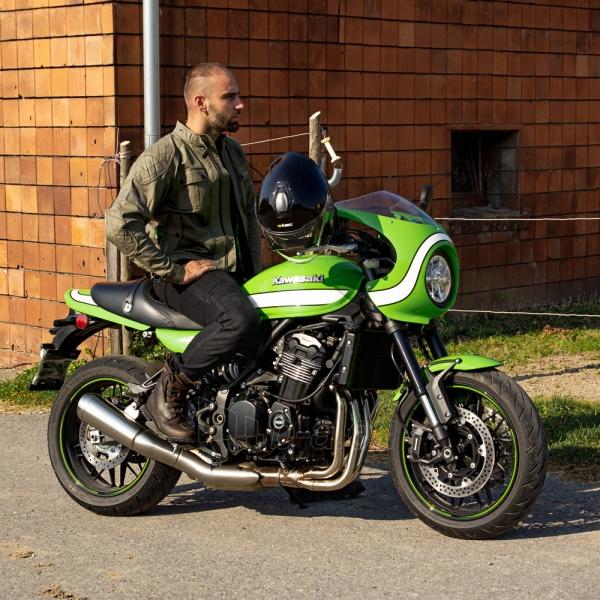 Vyriška moto striukė su apsaugomis W-TEC Rotenhan Paveikslėlis 5 iš 14 310820218035
