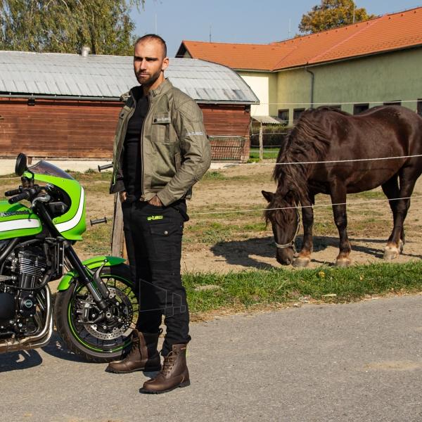 Vyriška moto striukė su apsaugomis W-TEC Rotenhan Paveikslėlis 3 iš 14 310820218035