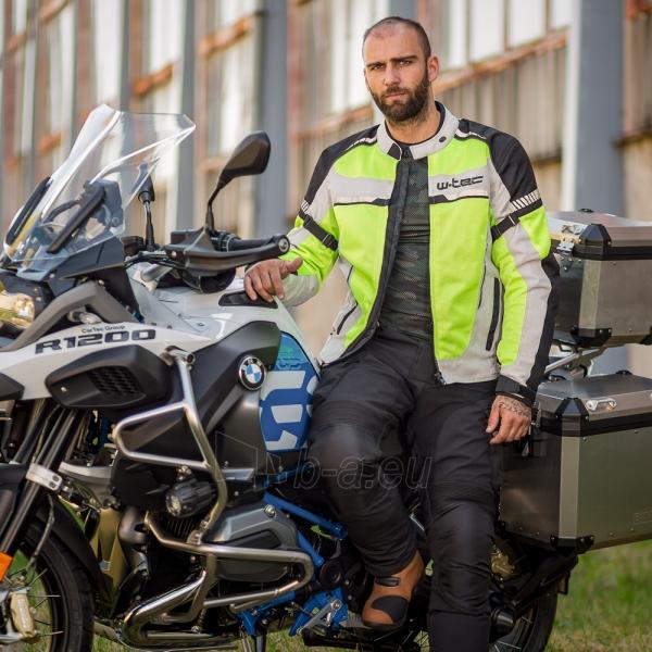 Vyriška moto striukė su apsaugomis W-TEC Saigair Paveikslėlis 2 iš 12 310820218044
