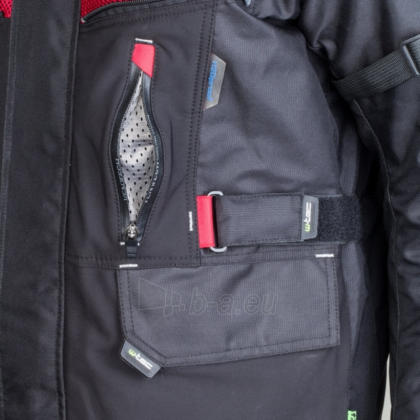 Vyriška moto striukė su apsaugomis W-TEC Tomret NF-2220 Paveikslėlis 13 iš 14 310820218034