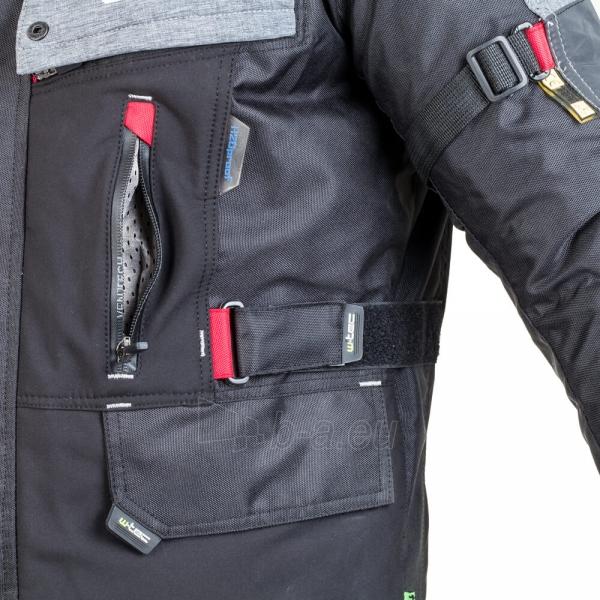 Vyriška moto striukė su apsaugomis W-TEC Tomret NF-2220 Paveikslėlis 5 iš 14 310820218034