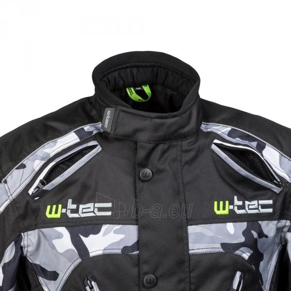 Vyriška moto striukė su apsaugomis W-TEC Troopa Paveikslėlis 9 iš 13 310820218045