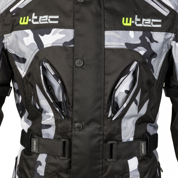 Vyriška moto striukė su apsaugomis W-TEC Troopa Paveikslėlis 8 iš 13 310820218045