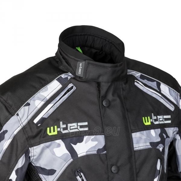 Vyriška moto striukė su apsaugomis W-TEC Troopa Paveikslėlis 7 iš 13 310820218045