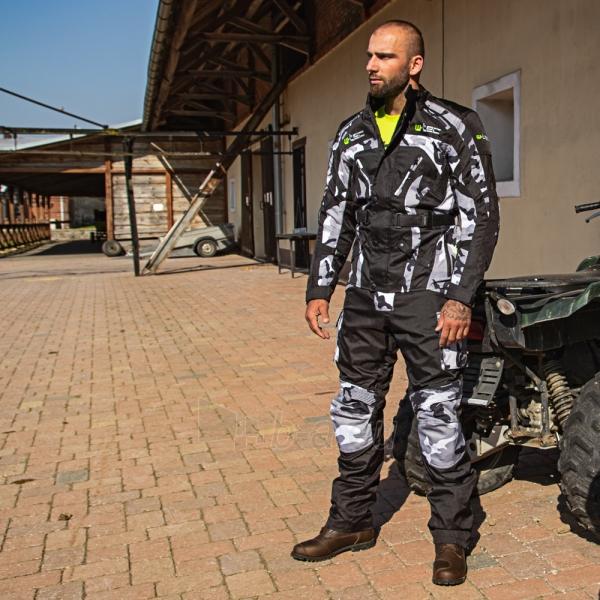 Vyriška moto striukė su apsaugomis W-TEC Troopa Paveikslėlis 5 iš 13 310820218045
