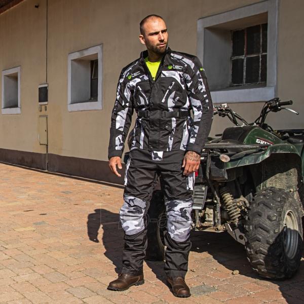 Vyriška moto striukė su apsaugomis W-TEC Troopa Paveikslėlis 2 iš 13 310820218045
