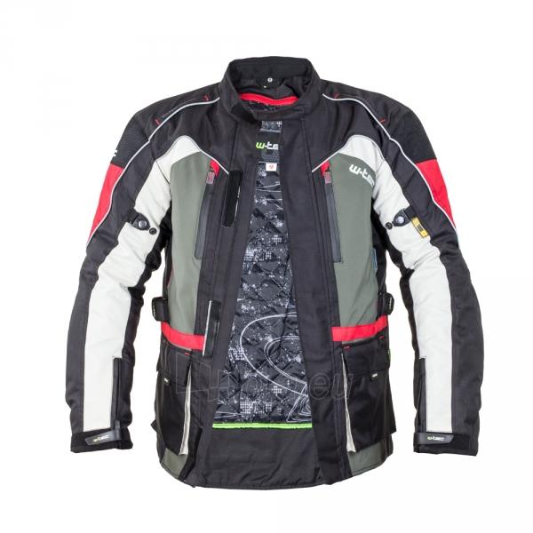 Vyriška moto striukė su apsaugomis W-TEC Wigstein NF-2209 Paveikslėlis 11 iš 12 310820218033