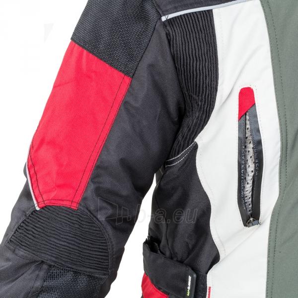 Vyriška moto striukė su apsaugomis W-TEC Wigstein NF-2209 Paveikslėlis 9 iš 12 310820218033