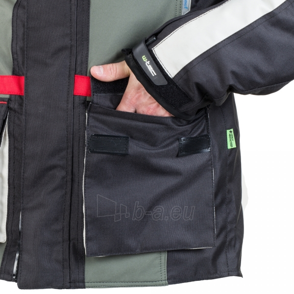 Vyriška moto striukė su apsaugomis W-TEC Wigstein NF-2209 Paveikslėlis 5 iš 12 310820218033
