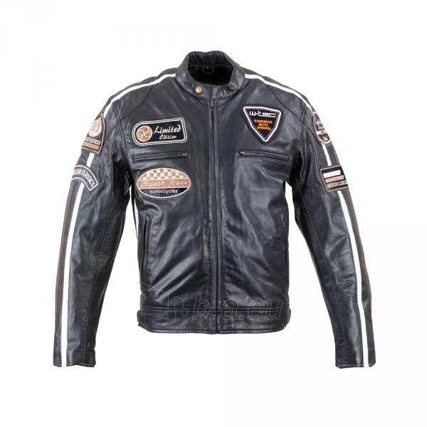 Vyriška motociklininko striukė W-TEC Black Cracker Paveikslėlis 1 iš 13 310820218023