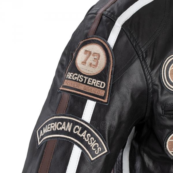 Vyriška motociklininko striukė W-TEC Black Cracker Paveikslėlis 10 iš 13 310820218023