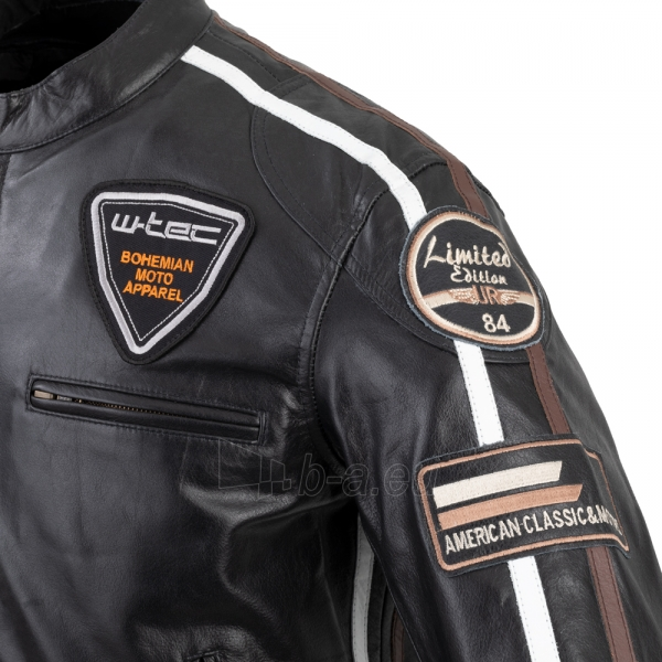 Vyriška motociklininko striukė W-TEC Black Cracker Paveikslėlis 7 iš 13 310820218023