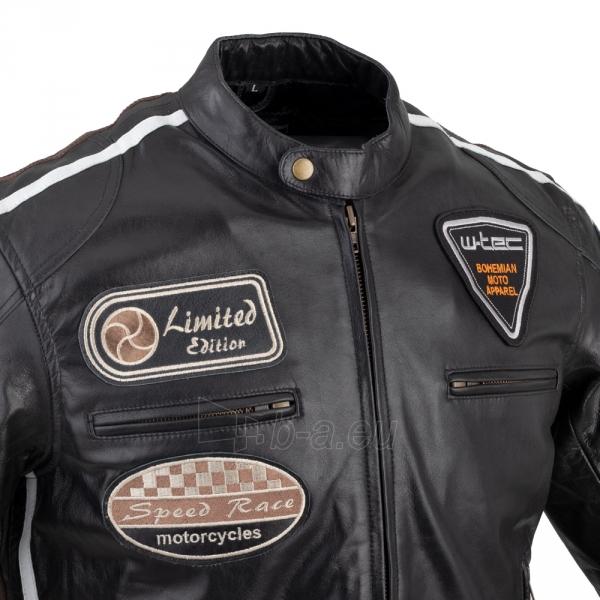 Vyriška motociklininko striukė W-TEC Black Cracker Paveikslėlis 6 iš 13 310820218023
