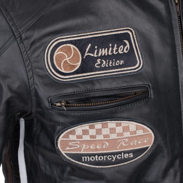 Vyriška motociklininko striukė W-TEC Black Cracker Paveikslėlis 5 iš 13 310820218023