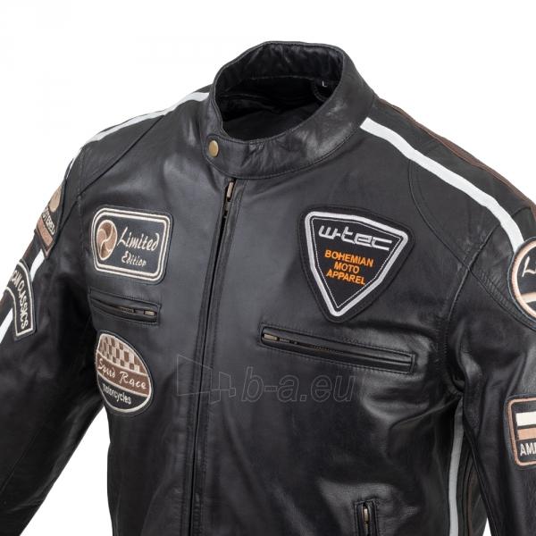 Vyriška motociklininko striukė W-TEC Black Cracker Paveikslėlis 3 iš 13 310820218023