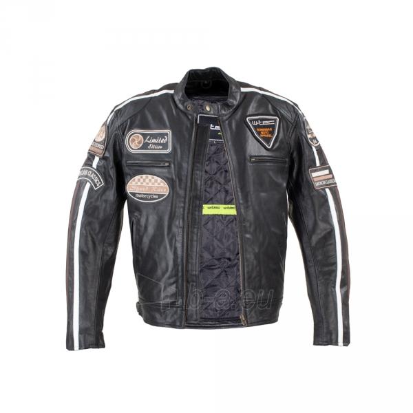 Vyriška motociklininko striukė W-TEC Black Cracker Paveikslėlis 2 iš 13 310820218023