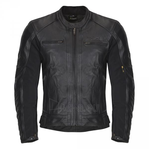 Vyriška odinė motociklininko striukė W-TEC NF-1121 Paveikslėlis 1 iš 8 310820083834