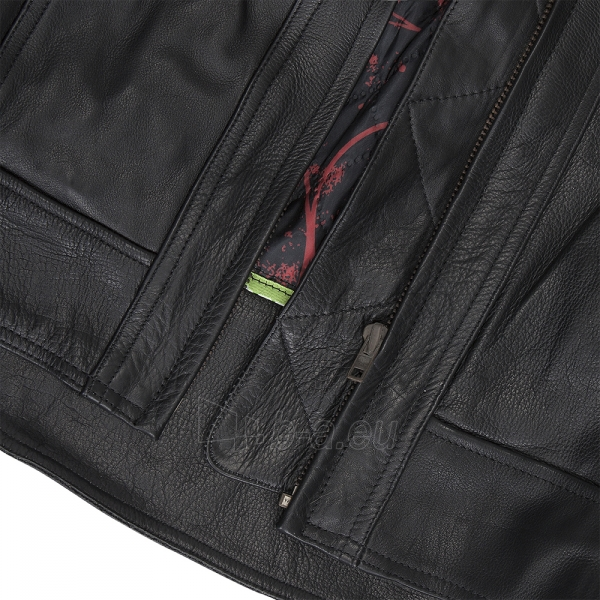 Vyriška odinė motociklininko striukė W-TEC NF-1121 Paveikslėlis 2 iš 8 310820083834