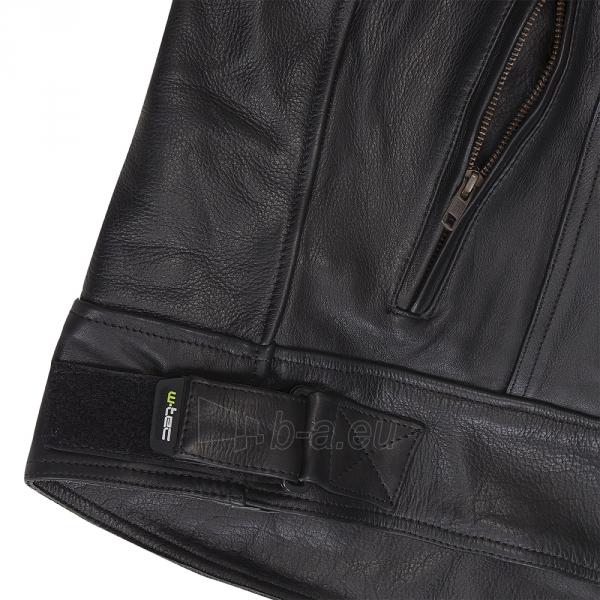 Vyriška odinė motociklininko striukė W-TEC NF-1121 Paveikslėlis 3 iš 8 310820083834