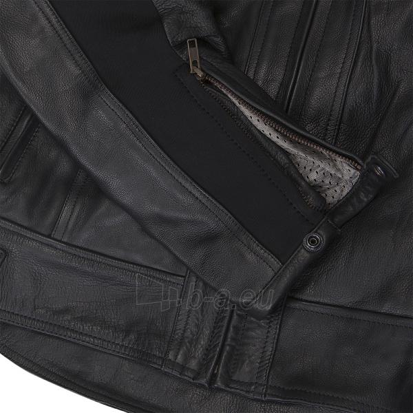 Vyriška odinė motociklininko striukė W-TEC NF-1121 Paveikslėlis 6 iš 8 310820083834