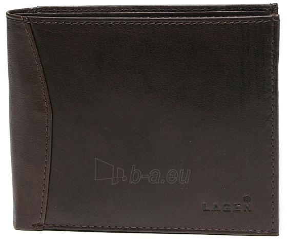 Vyriška odinė piniginė Lagen W-8120 Ruda Paveikslėlis 1 iš 2 310820231036