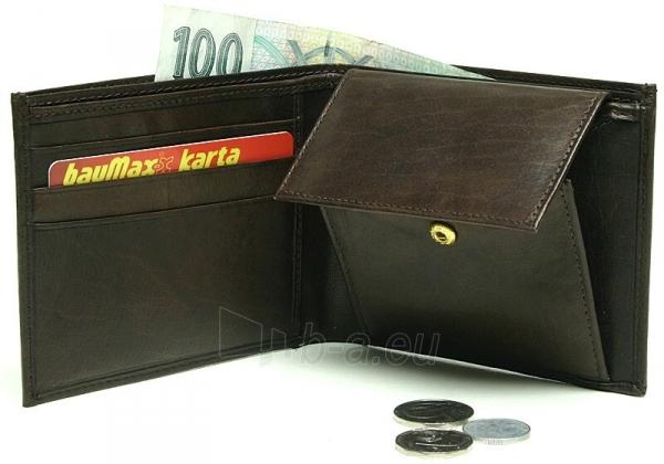 Vyriška odinė piniginė Lagen W-8120 Ruda Paveikslėlis 2 iš 2 310820231036
