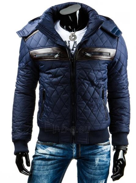Vyriška striukė Bear (Tamsiai mėlyna) Paveikslėlis 1 iš 6 310820036946