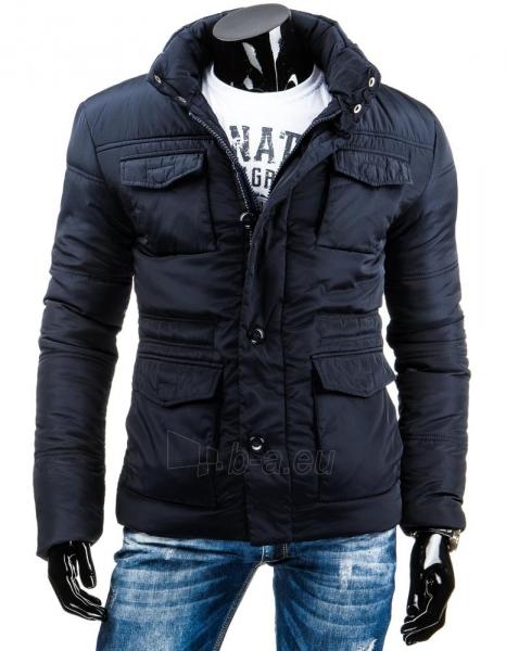 Vyriška žieminė striukė Owen (Tamsiai mėlyna) Paveikslėlis 1 iš 6 310820036234