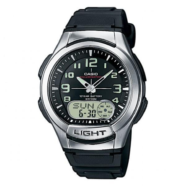 Vīriešu Casio pulkstenis AQ-180W-1BVES Paveikslėlis 1 iš 1 310820042208