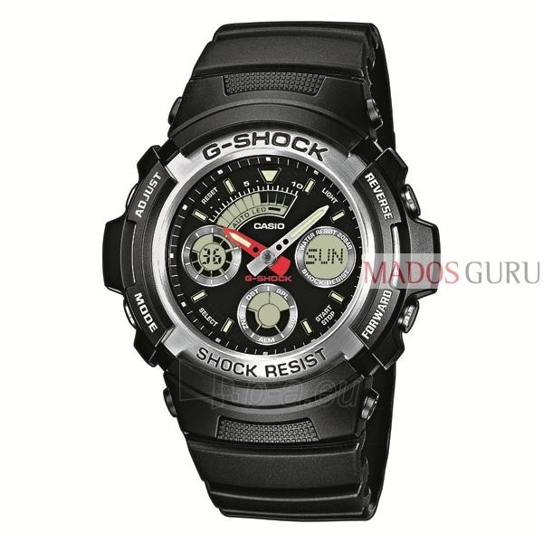 Vyriškas Casio laikrodis AW-590-1AER Paveikslėlis 1 iš 1 310820050204