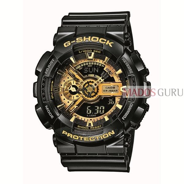 Vīriešu Casio pulkstenis GA-110GB-1AER Paveikslėlis 1 iš 1 310820004200