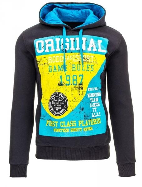 Vyriškas džemperis 1987 (Grafitinis) Paveikslėlis 1 iš 1 310820035147