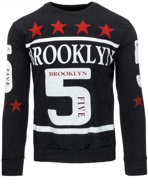 Vyriškas džemperis 5 Stars (Grafitas) Paveikslėlis 1 iš 7 310820031511